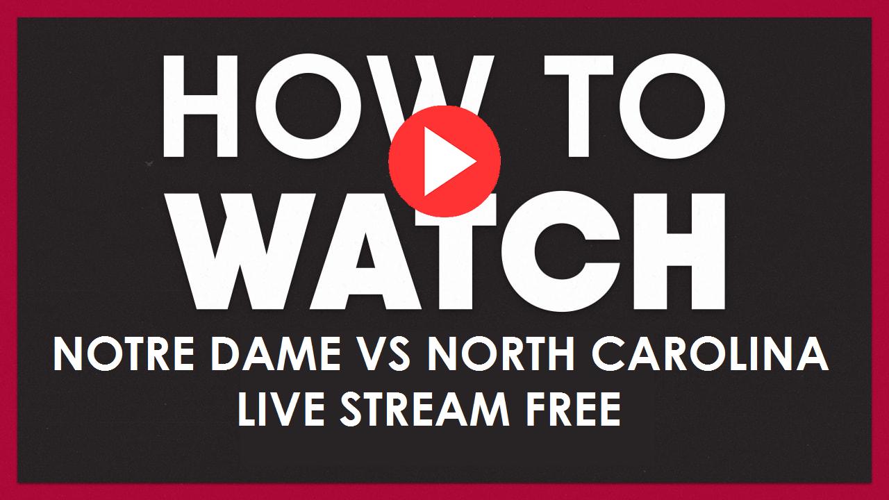 Live Stream Notre Dame