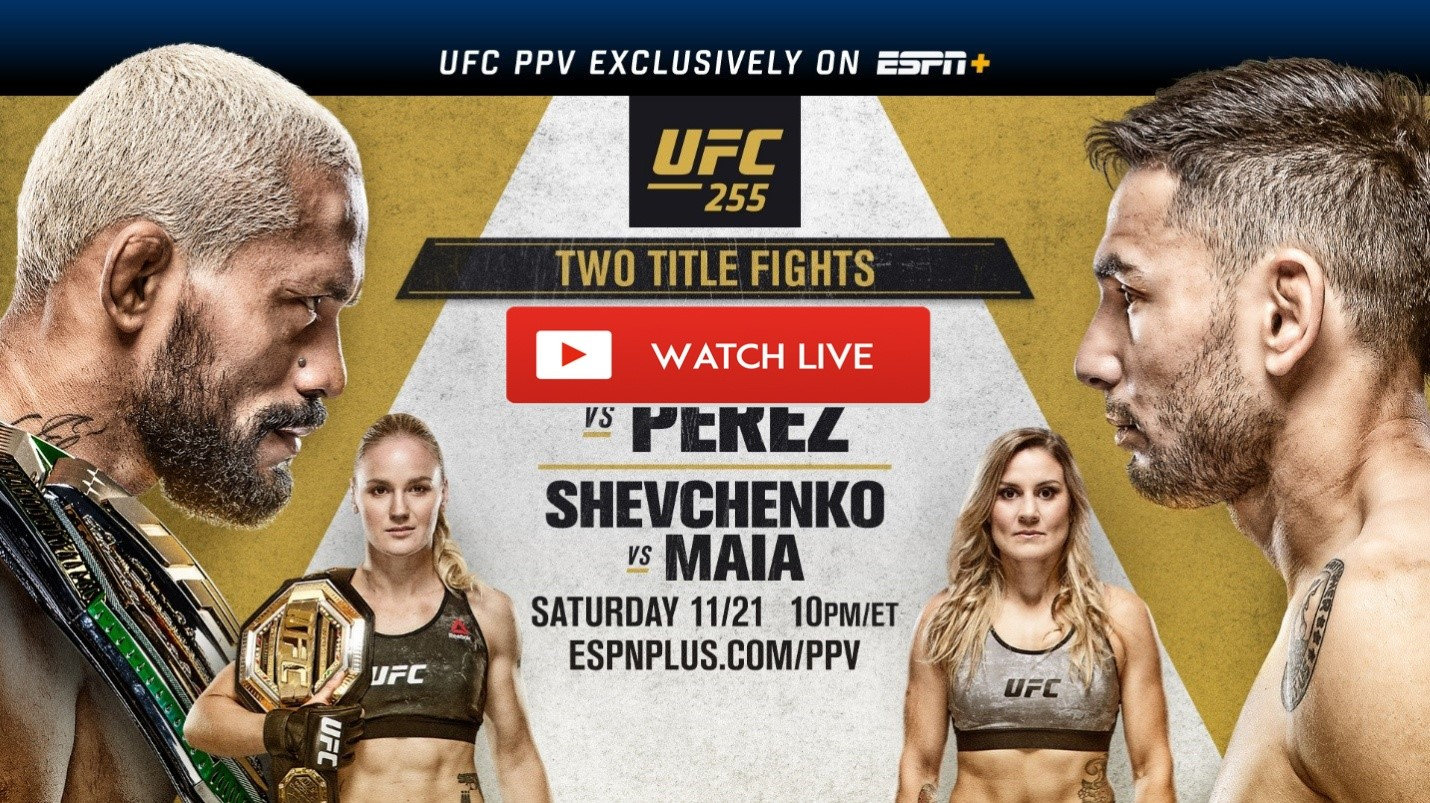 Ufc 255 Live Stream Free Reddit Mma Ppv Fight Figueiredo Vs Perez Prelims And Full Card Espn Programming Insider