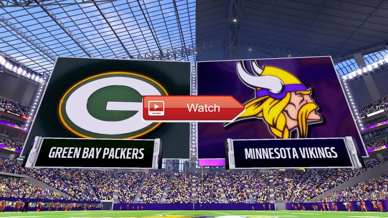 Bay Packers vs Minnesota Vikings Live Free Reddit  NFL Streams Packers vs Vikings Week 8